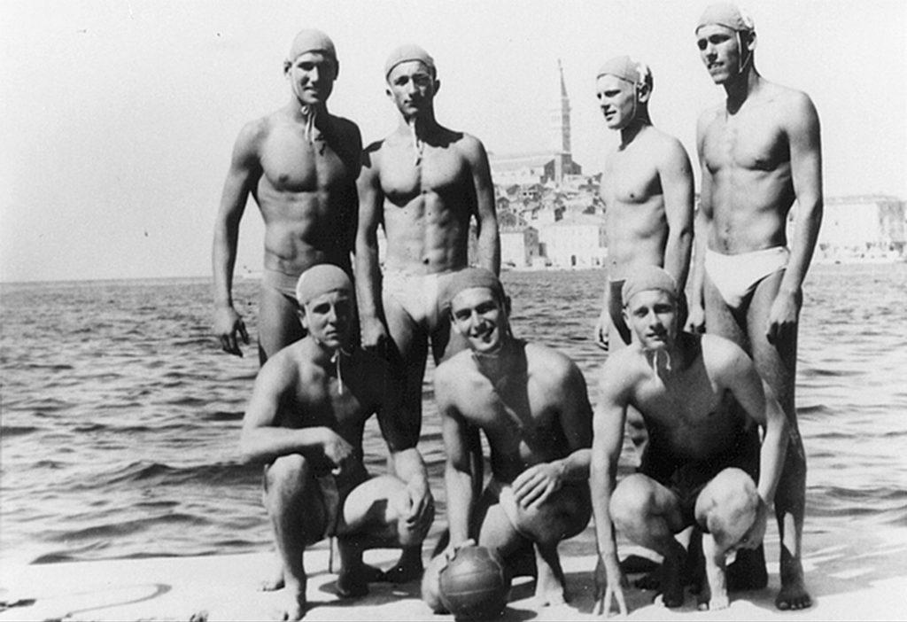 1958. Vaterpolo ekipa juniori